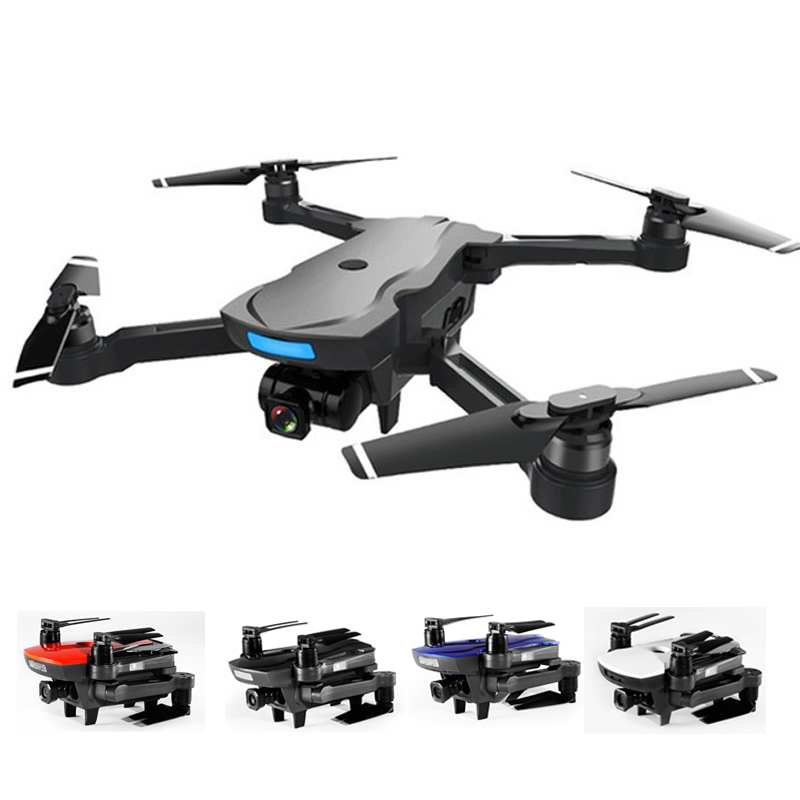 Image 2 - CG033 Selfie FPV Drone with HD Gimbal Camera WIFI Foldable Brushless Motor RC Quadcopter Helicopter GPS Dron VS S20 XS812 SG900-in RC Helicopters from Toys & Hobbies