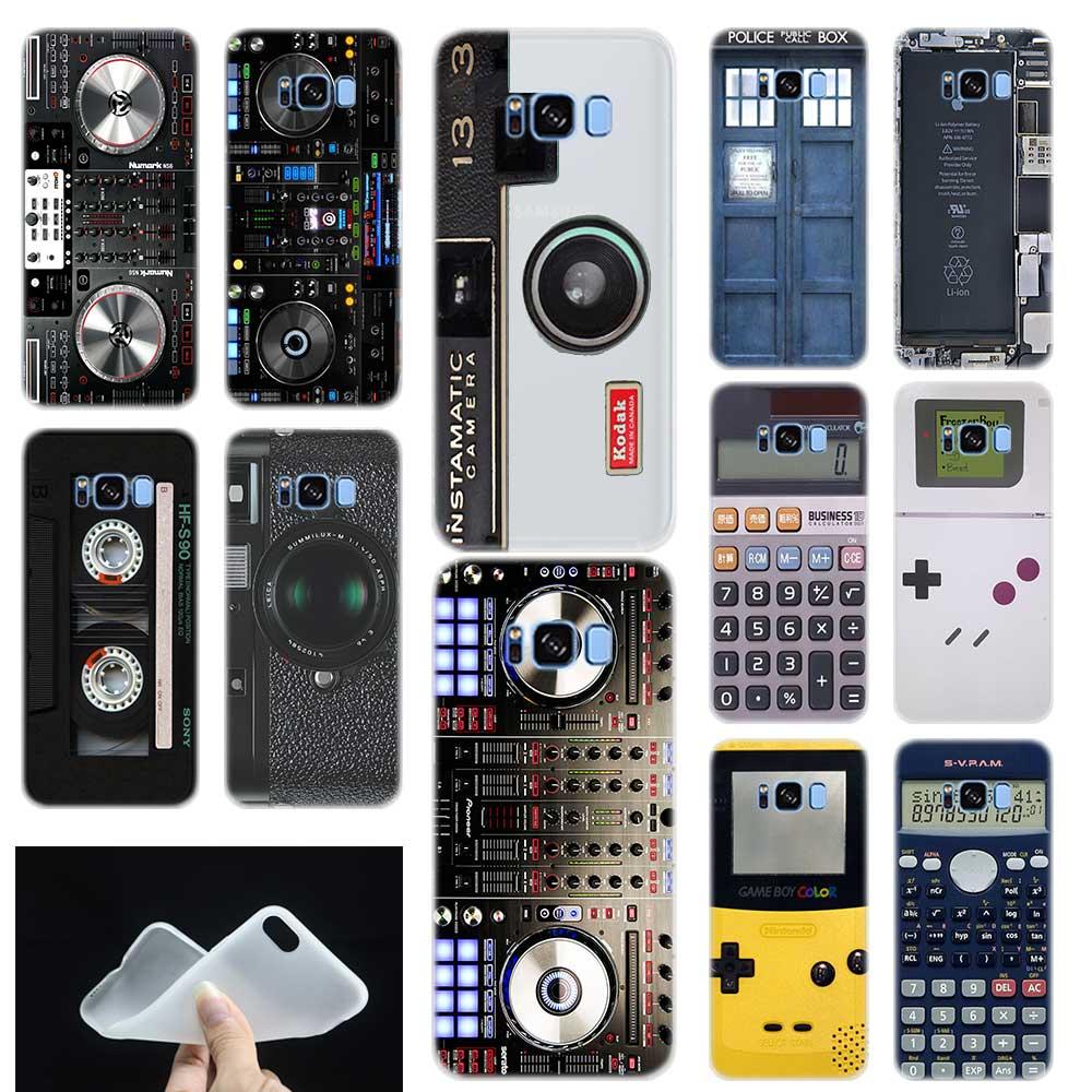 Reminiscent Classic Camera Battery Calculator Phone Case Cover For Samsung  Galaxy S6 S7 Edge S8 S9 Plus S10 Plus Lite Note 8 9
