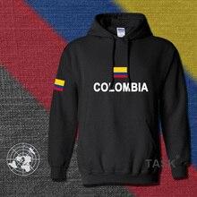 Kolumbien hoodies männer sweatshirt polo trainingsanzug hip hop streetwear footballes jerseyes trainingsanzug nation kolumbianischen flag co fleece