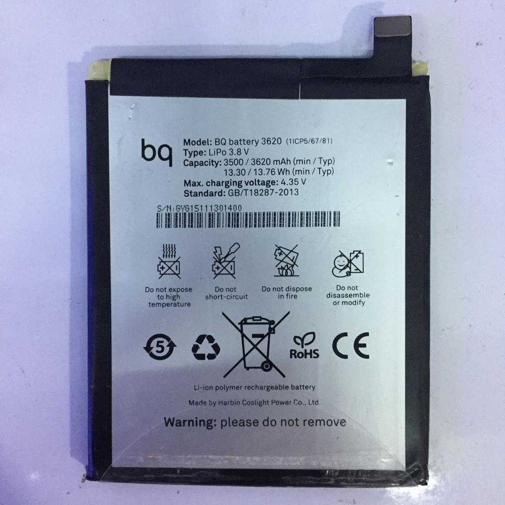 3620 mAh bateria 3620 Para BQ Aquaris BQ M5.5/3620 Bateria