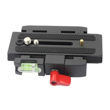 Kamera tripodu monopod P200 PRO DSLR kamera hızlı yayın kelepçe adaptör QR plaka için Manfrotto 501 500AH 701HDV 503HDV Q5