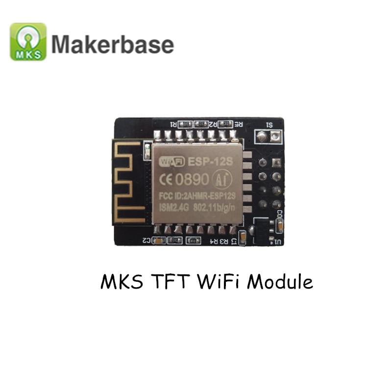 Últimas 3D Partes de impresora MKS TFT módulo WiFi inalámbrico controlador inteligente WiFi App módulo para smoothieboard MKS tft32/tft28