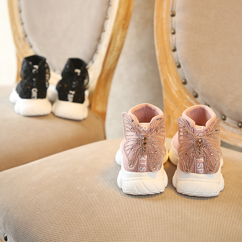 dos miudos das sapatilhas bebe bonito bowknot ankle boots 03
