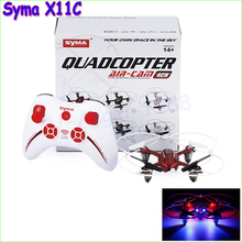 Syma X11C RC Quadcopter with Camera HD 2.0MP Remote Control Quadrocopter Helicopter Saucer Drone RTF As X5C H6C U818A