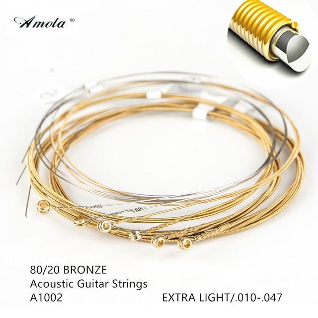 Acoustic Guitar Strings 11002 11025 11027 11052 11100 16002 16027 16052 16077 16102 Phosphor Bronze Guitar Parts
