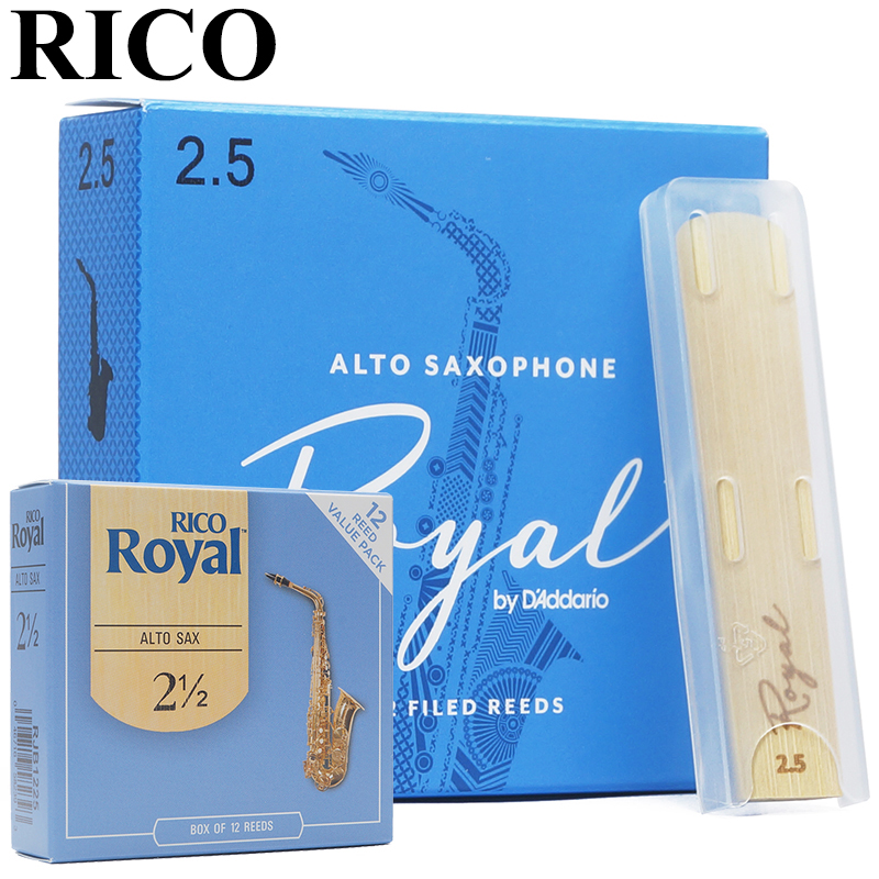 The United States RICO Royal blue box Eb alto sax reed / alto saxhpone reeds communist czechoslovakia 1945 89