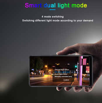 N_eye IP camera 8MP 4K HD Outdoor camera color night vision PTZ Security Speed Dome Camera wifi smart outdoor security camera