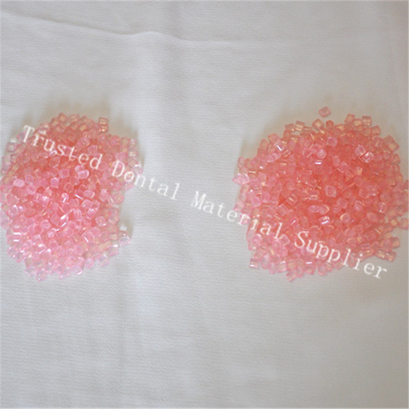 Hot Sample 500g bag K1 K2 Clear A1 A2 Pink White Color Denture Valplast Flexible Acrylic