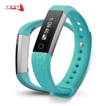 IPX6 Водонепроницаемый смарт-браслет умный браслет здоровья фитнес трекер сердечного ритма часы Шагомер анти-потерянный PK fitbits Mi band