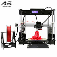 Anet A8 Impresora 3D Printer Large Printing Size Electronic Imprimante 3D Printers DIY Kit With Filament