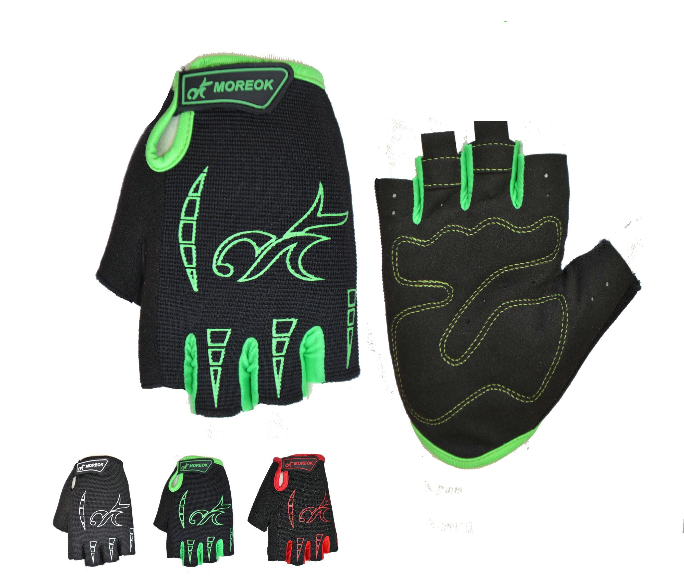 Для Мужчин велосипедные перчатки удобные велосипедов Спорт Половина Finger Антискользящая гель Pad мотоциклетные MTB дорожный велосипед перчат...
