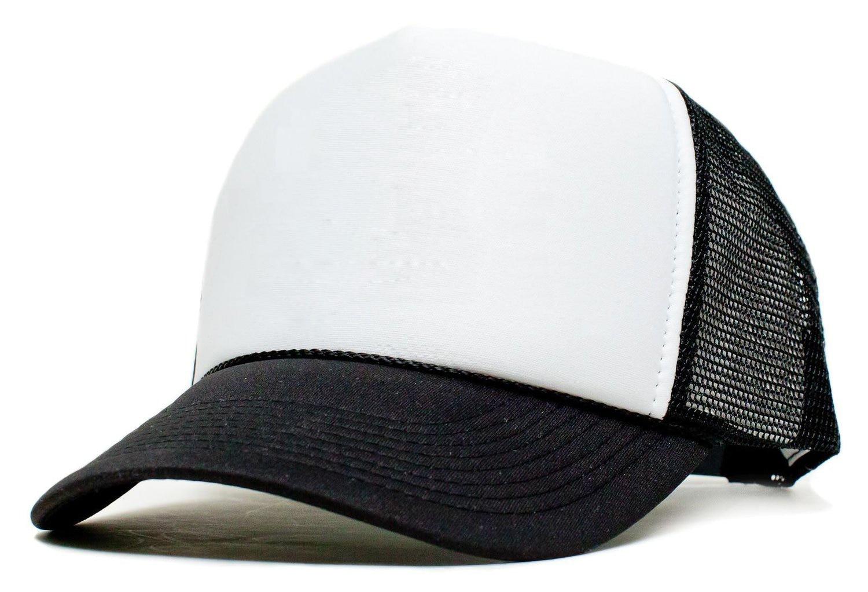Vomit Unicorn Mesh Baseball Caps Girls Adjustable Trucker Hat Black