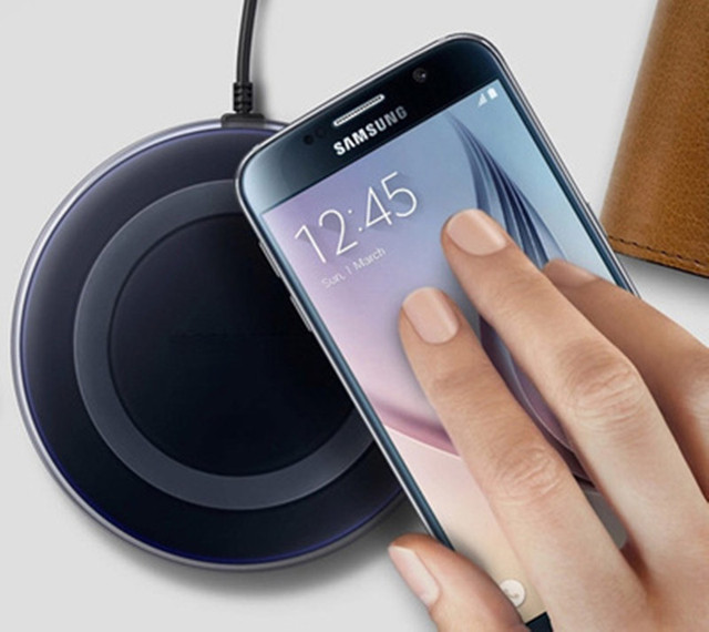Universal Qi Wireless Charging Pad Mobile Phone Adapter Wireless Charge Dock Station +Receiver for Samsung Galaxy S7 S6 5