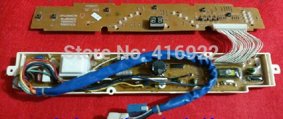 Free shipping 100% tested for Sanyo washing machine board xqb60-m808 xqb60-s808 xqb55-568 55-y808j motherboard on sale 100% tested for washing machine board wd n80051 6871en1015d 6870ec9099a 1 motherboard used board