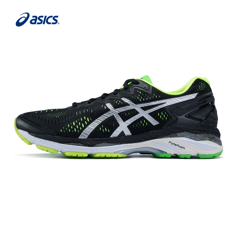 Original ASICS Men Shoes GEL-KAYANO 23 Breathable Cushion Running Shoes Light Weight Sports Shoes Sneakers Outdoor Walking asics gel volley elite 2