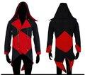RASMEUP Garantia de 3 Novos homens jaqueta Kenway anime trajes de Halloween cosplay roupas trajes assassins creed para meninos crianças