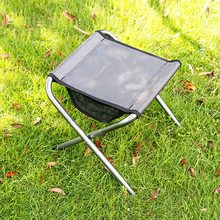 Ultra-light Portable Foldable Folding Chair Camping Fishing Stool Chair Seat for Outdoor