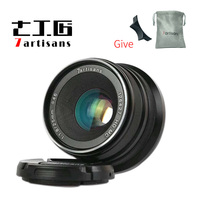 7artisans 25mm F1.8 Prime Lens to micro single Series for sony E Mount Micro 4/3 or fiji XF mount or canon M mount micro Cameras