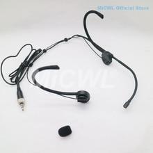 Headset Microphone For Sennheiser G2 G3 G4 Foldable Earset Headworn Mic Wireless BeltPack Transmitter MiCWL E6i