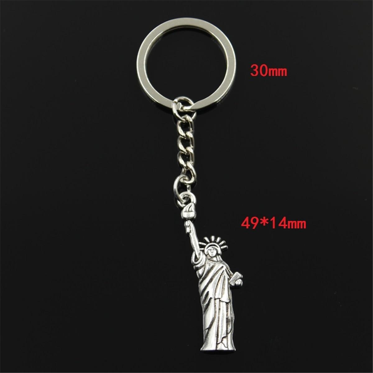 neue Art und Weisemänner 30mm keychain DIY Metallhalterkette - Modeschmuck - Foto 4