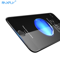 RAXFLY Screen Protector For IPhone 7 7 Plus 9H Full Protective Blue Light Tempered Glass Film