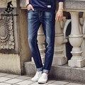Pioneer Camp 2017 Новый дизайн Весна Известная Марка Мужчин Slim Джинсы мужчины 100% Хлопок Прямые Брюки Длинные Брюки джинсовые 611021