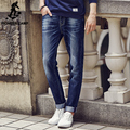 Pioneer Camp 2017 New design Spring Famous Brand Men Slim Jeans male 100% Cotton Straight Pants Long denim Trousers 611021