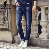 Pioneer Camp Spring Autumn Famous Brand Men Slim Jeans Men Street Cotton Jeans Homme Straight Pants