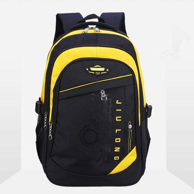 2016 Quality Children School Bag Waterproof Alleviate Burdens Unisex Kids Backpack Travel Bags Backpacks For Teenage