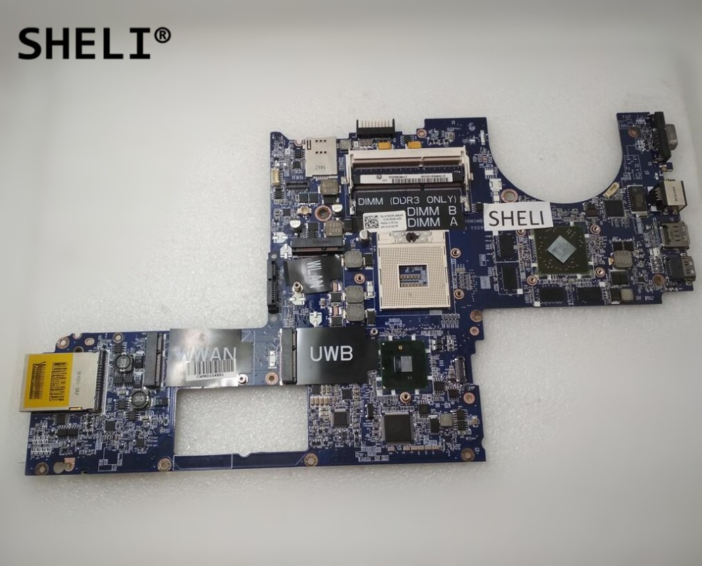 SHELI For DELL 1645 Motherboard with HD 4670 1GB DA0RM5MB8E0 CN-0Y507R 0Y507R Y507R sheli for dell 1645 motherboard with hd 4670 1gb da0rm5mb8e0 cn 0y507r 0y507r y507r
