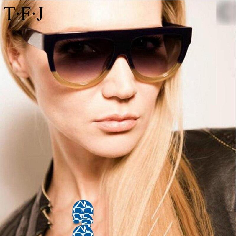 Global- Trendy lunettes de soleil mode personnalité rétro grandes lunettes de soleil boîte Mme lunettes de soleil ( couleur : #1 ) Y44ZjQ