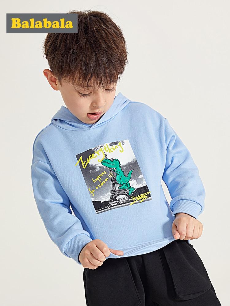 e3e4f6c8 Balabala Kids Boys Hooded Sweatshirt Hoodie with Printed Design Children  Toddler Boys Sports Sweatshirt Spring Clothes Clothing