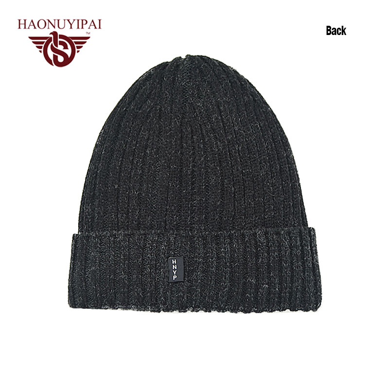 365e839feab Wholesale Men s Winter Warm Knitting Hat Double Furry Velvet Little Cap  Skullies Adult Leisure Cap Outdoor Sports Ski Cap PA090-in Skullies    Beanies from ...