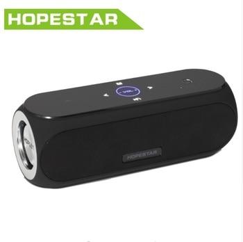 Hopestar H19 NFC Bluetooth Speaker Touch Pad Super Bass Column Subwoofer Big Power 24W wireless Speakers 4400MAH Power bank subwoofer