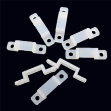 20Pcs/Set New Soft Light Clamp Retaining Clips ABS Fixer Clip With Screw for 3528 RGB LED Strip 8/10/12mm