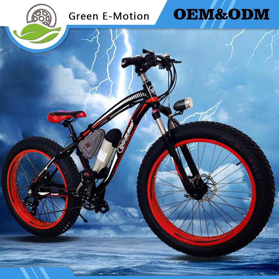 Nova 36V350W litijska baterija električni sniježni bicikl brdski - Biciklizam