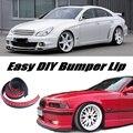 Bumper Lip Para Mercedes Benz MB W218 C218 CLS W219 C219/Saia da frente Spoiler Para O Ajuste Do Carro Defletor/Body Kit + Tira