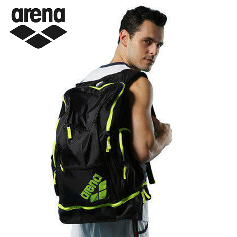Arena Swimming Backpack Large Storage Swimming Bag Men Women Outdoor Fitness Traval Backpack High Capacity Beach Swim Equipment аскона fitness arena 80x190