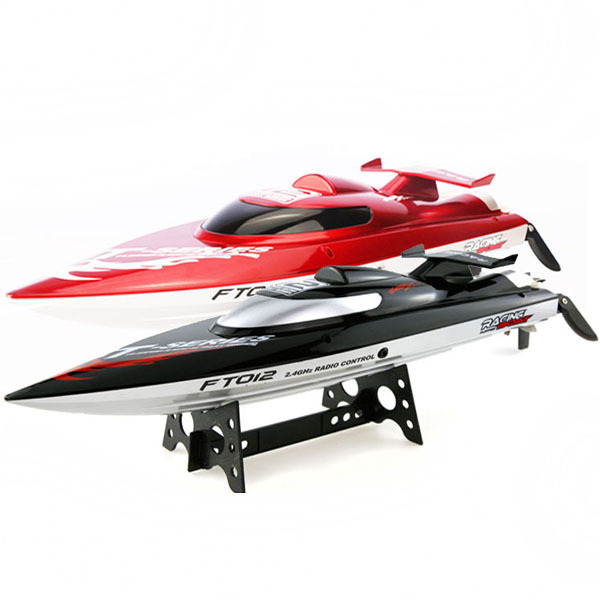 (In stock) FT012 Upgraded FT009 Brushless Motor 4CH Water Cooling High Speed Racing RC Boat RTF 2.4GHz