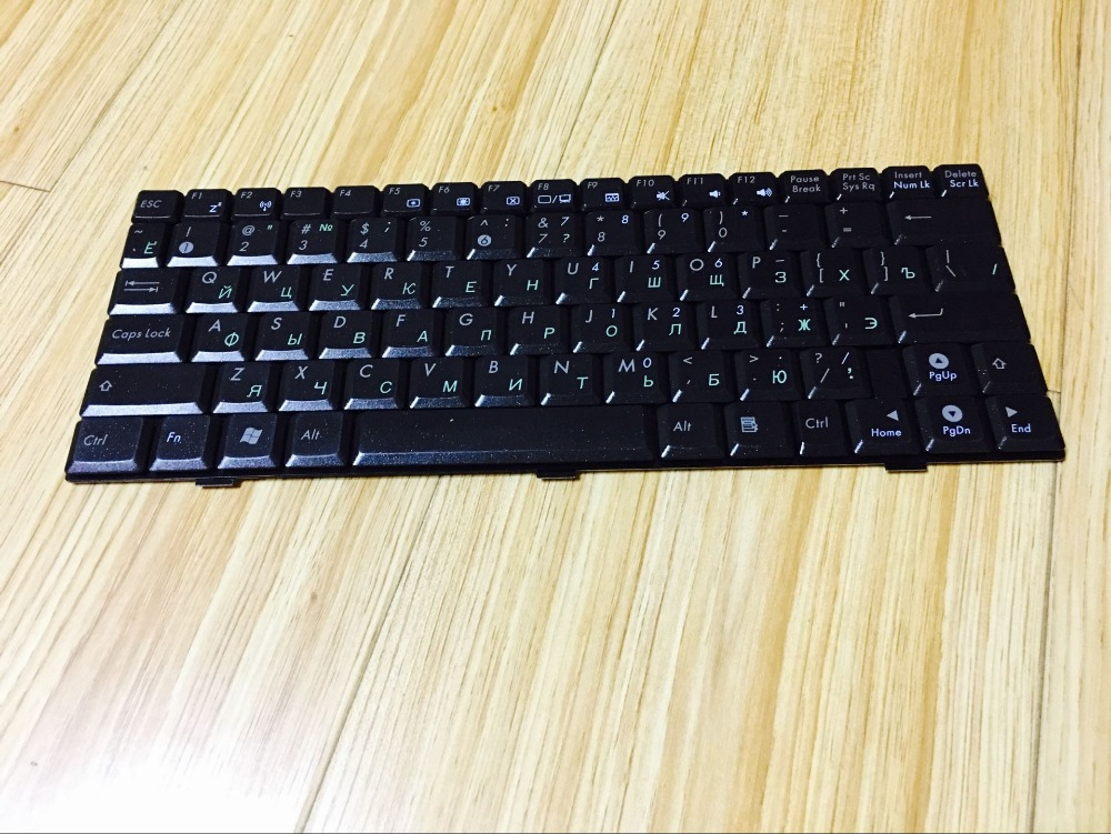 New Laptop keyboard for Asus EeePC 1000 1000H 1000HA RU/Russian layout for asus a53be a53br a53by a53e a53sc a53sd k54 laptop keyboard