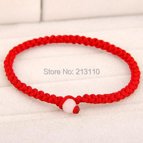 Kymyad Fashion Jewelry Friendship Bracelets Red Lucky Bangles Bracelet Women Accessories Bijoux Pulseras