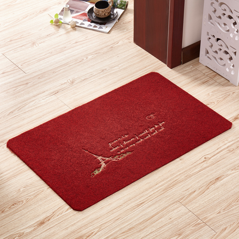 a red Carpet Mat Kitchen Shower Room Non slip Lobby The entrance door Mat. Popular Red Kitchen Mat Buy Cheap Red Kitchen Mat lots from China