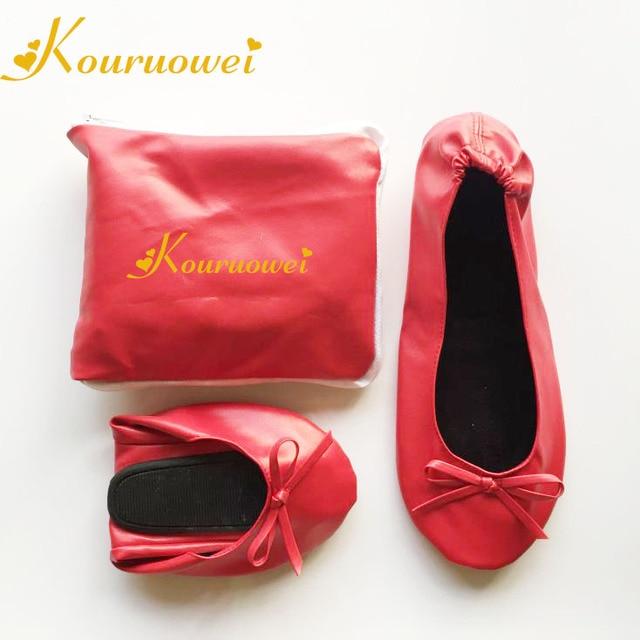 hot selling women flat bendable shoes soft dance rollable shoes 2018 ... cfc4206e065e