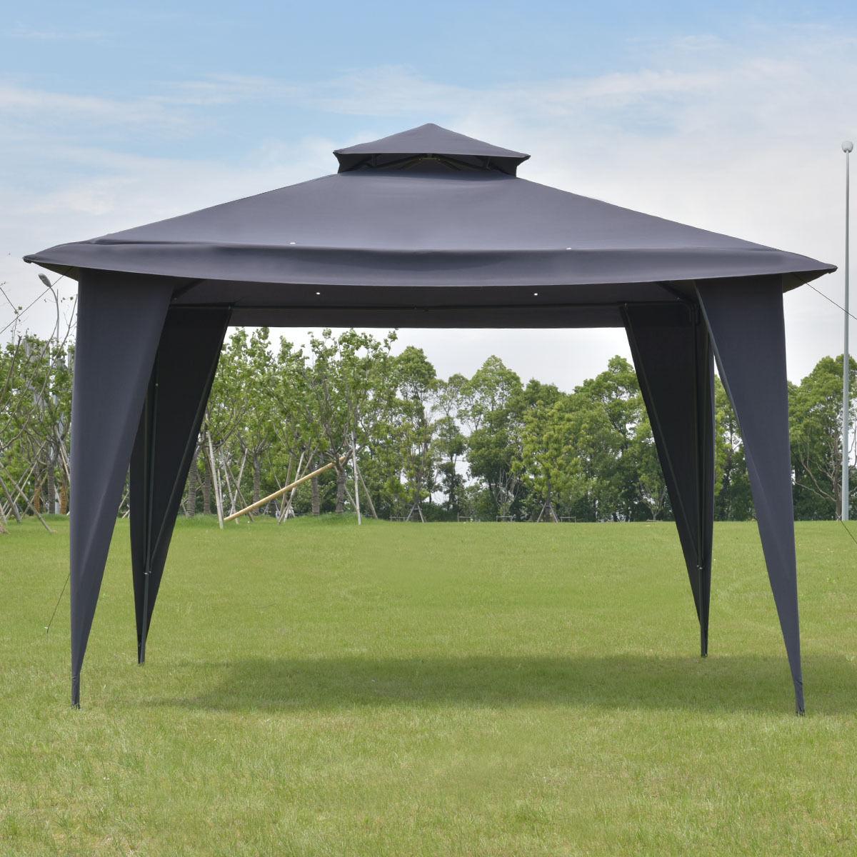 Goplus 2 Tier 11 \'X11 \'Gazebo Canopy Shelter Tragbare Hochzeit Zelt ...