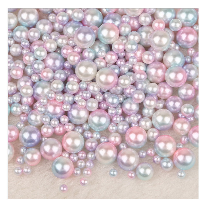 160PCS 6mm Glass Pearl Spacer Lavender//purple Round Imitation Pearl beads