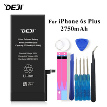 Deji Battery For iPhone 6s Plus 6sPlus 6sP Apple iPhone6s Li-polymer Bateria 2750mAh+Tools