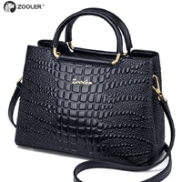 ZOOLER brand Quality Women's Genuine Leather Handbags Boston Shoulder Bags Messenger Bag Women Bags Cow Leather Tote bags Ck20