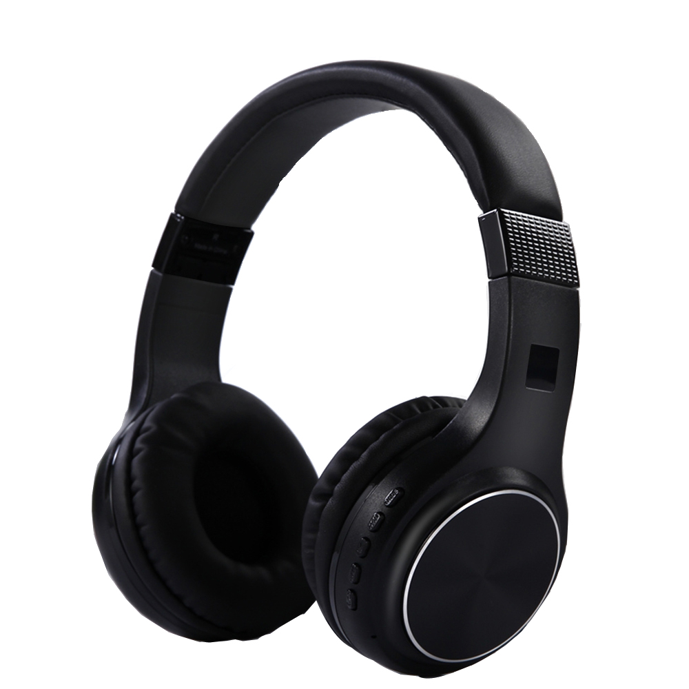 NVAHVA V4.2 Bluetooth Headphone, Noise Cancelling Bluetooth Headset, Card MP3 Player Wireless Bluetooth Earphone With AUX Cable