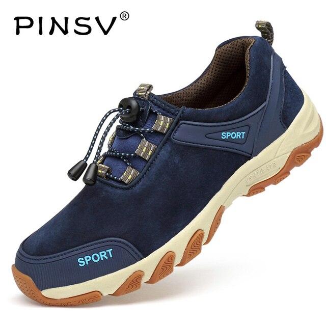 67ef3cf523 Pinsv montaña Zapatillas de senderismo hombres deporte Zapatos trekking  sneakers hombre Botas trekking hombre impermeable Zapatillas