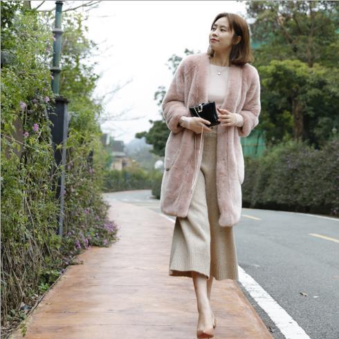 Clobee La Chaud Faux Furry D'hiver Artificielle Manteau Veste 2018 Z403 Femmes Fourrure Plus De Femme Taille Outwear oxdBCerW